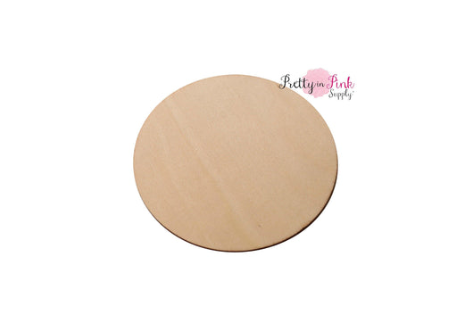 Smooth WOODEN Disc/Circle