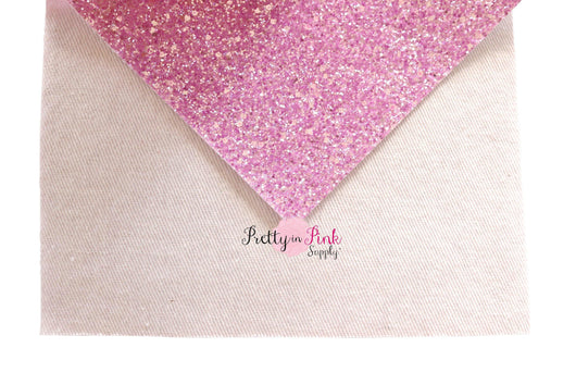 FROSTED Chunky Glitter Sheets - Pretty in Pink Supply