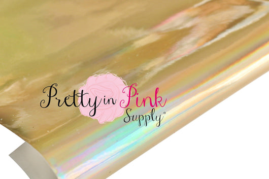 Gold HOLOGRAPHIC Thin Sheet
