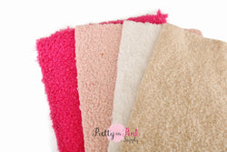 Faux Lamb Wool Fabric Sheet