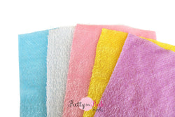 Fuzzy Tassel Fabric Sheet