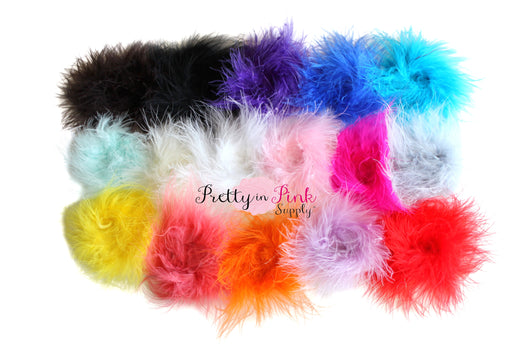 Marabou Feather Puffs