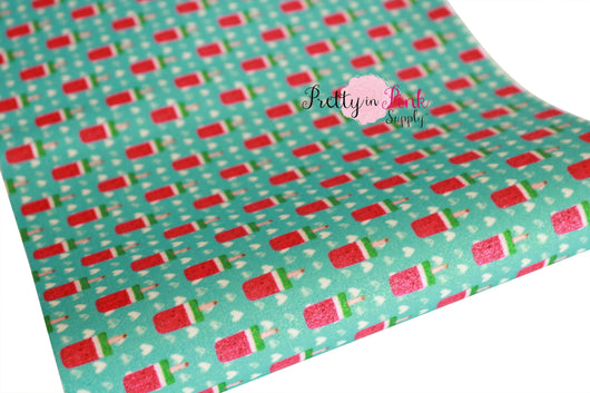 Watermelon Pop Shimmer Glitter Sheet
