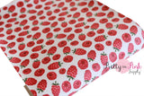 Raspberry Canvas Fabric Sheet