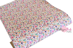 Fancy Floral Canvas Sheet