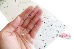 Clear Rhinestone JELLY Sheet