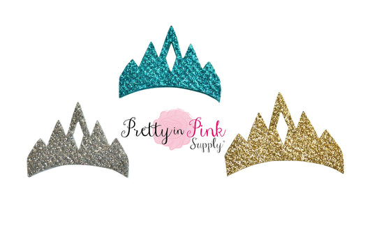 Glitter Princess Crown Felt