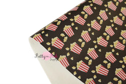 Popcorn Soft Faux Leather Fabric Sheet