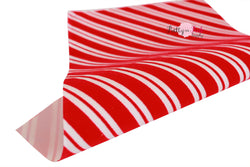 Lightweight Candy Cane Velvet Sheet