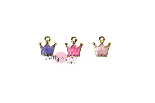PEARL Crown Charm - Pretty in Pink Supply