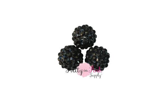 Black AB Berry Beads