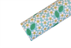 Picking DAISIES Faux Leather Fabric Sheet