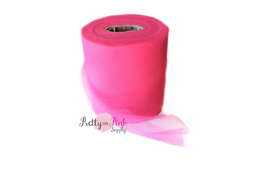 Hot Pink Tulle - Pretty in Pink Supply