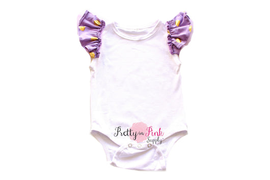 Polka Dot Ruffle Sleeve Bodysuits - Pretty in Pink Supply