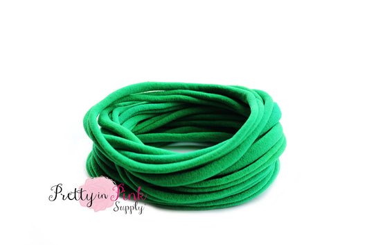 Emerald THIN Nylon Headband - Pretty in Pink Supply