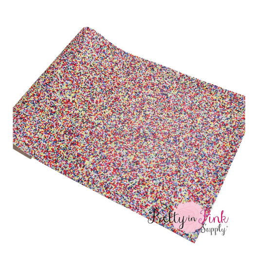Sprinkled CARNIVAL Fabric Sheet - Pretty in Pink Supply