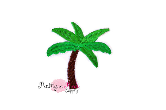 Palm Tree Iron On Patch - Pretty in Pink Supply