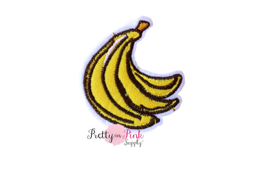 Bananas Iron On Patch - Pretty in Pink Supply