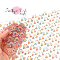 Peony Rainbows | Jelly Sheet
