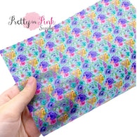 Polka Dot Spring Floral | Jelly Sheet