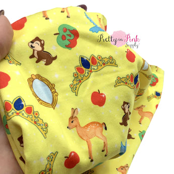 Fairest of All Princess | Double Brushed Poly Stretch Fabric
