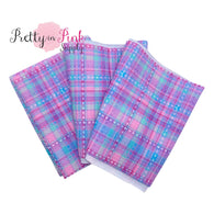 Purple Blue Tartan | Liverpool Fabric