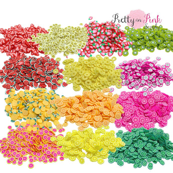 Fruit | Confetti Loose Clay - Pretty in Pink Supply