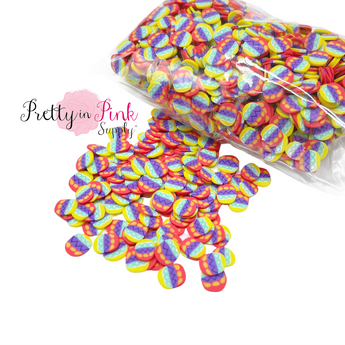 Multi Egg Confetti Loose CLAY Slices
