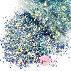 Blissful Waves Chunky/Fine MIX | 1/2 oz. Loose Glitter