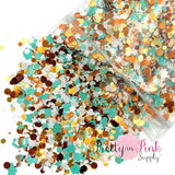 Flower Child Chunky MIX | 1/2 oz. Loose Glitter