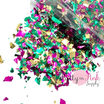 New Orleans Chunky Flakes MIX | 1/2 oz. Loose Glitter