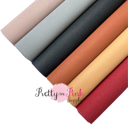 Luster Faux Suede Fabric Sheets