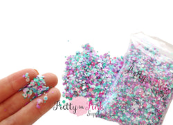 Mermaid Party Dot Confetti Loose Glitter