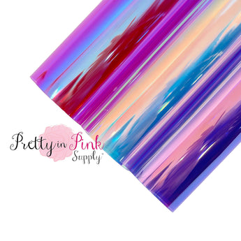 NEW Transparent Iridescent | Jelly Sheet