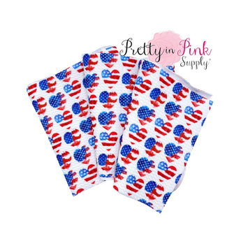 Patriotic Hearts | Liverpool Fabric - Pretty in Pink Supply
