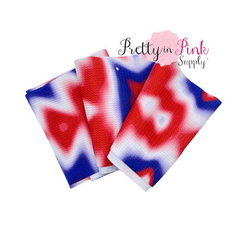 Patriotic Tie Dye | Liverpool Fabric - Pretty in Pink Supply