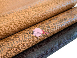 Textured Jagged Faux Leather Sheets