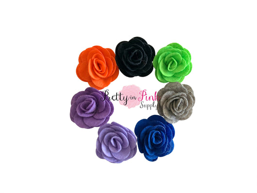 Jessica Collection Felt Rose Flowers