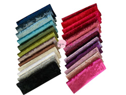 Crushed Velvet Fabric Sheets