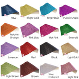 Solid Chunky Glitter CANVAS Sheets