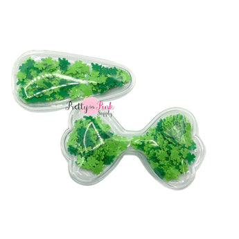 Green Shamrocks Confetti | Shakers