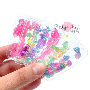 Under the Sea Scalloped | Snap Clip Covers - Pretty in Pink Supply