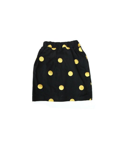Black/Gold Polka Dot Skirt