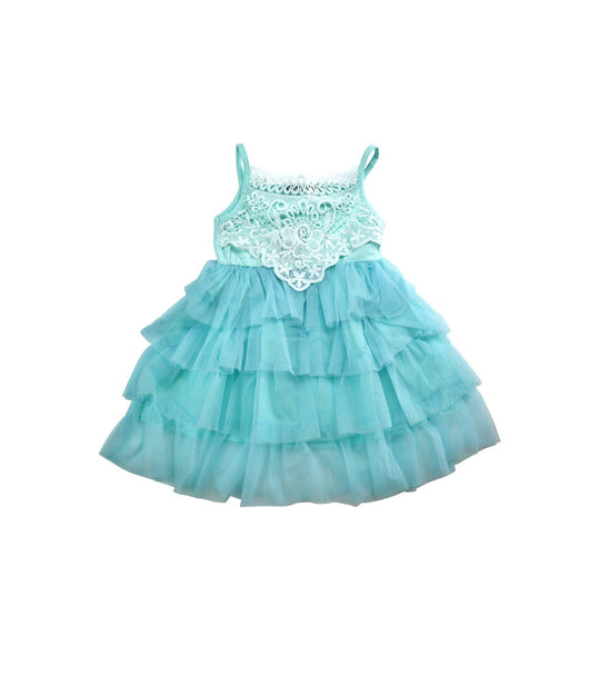 Light Blue Lace/Tulle Dress - Pretty in Pink Supply