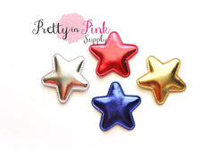 Padded Metallic Stars - Pretty in Pink Supply