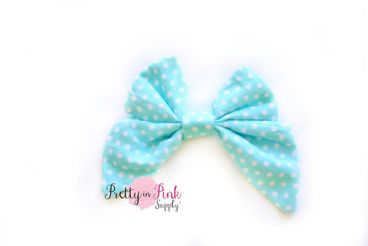 NEW Fabric TAIL Bow