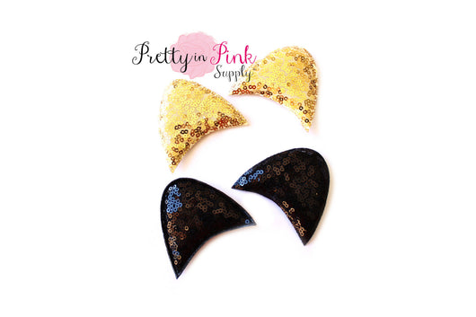 SEQUIN Cat Ears - Pretty in Pink Supply
