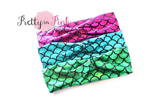 Mermaid Headwraps - Pretty in Pink Supply