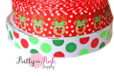 Christmas Grosgrain Ribbon - Pretty in Pink Supply