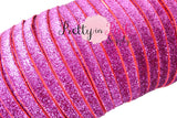 "3/8"" Glitter Elastic Raspberry - Pretty in Pink Supply"